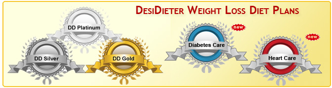 DesiDieter Weight Loss Diet Plans