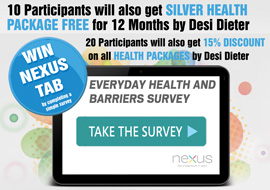 Win Nexus Tab and Free Health Packages by sharing your perceptions and online behavior